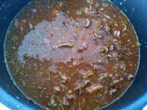 carne con caldo