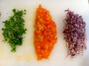 hortalizas picadas
