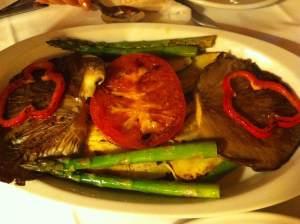 verduras parrilla