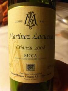 vino martínez lacuesta