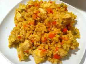 arroz frito el día de después