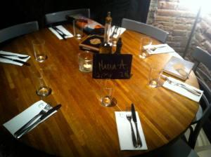 Mesa para 7