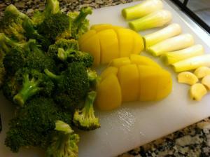 verduras preparadas