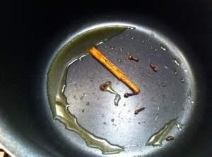 aceite y canela