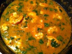 curry rojo listo