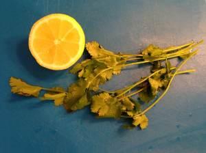 lima y cilantro