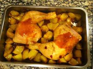 pollo al horno de nuevo