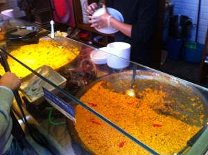 Paellas Mercado San Miguel