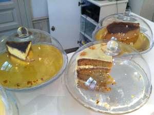 tartas café del jardín II