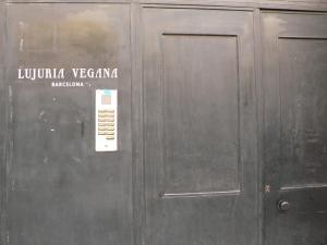 Entrada obrador Lujuria Vegana