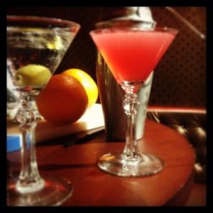 dry martini y cosmopolitan