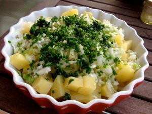fuente de patatas
