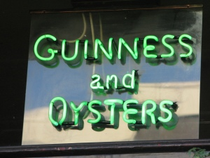 guiness and oysters_thecow_londontown