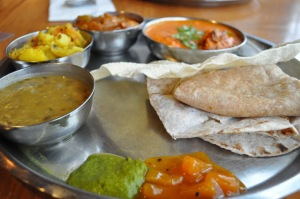 Masala Zone review Islington Indian food Chicken thali