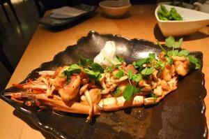 Nobu London Jumbo Shrimp with Yuzu Truffle Sauce_hungryhoss