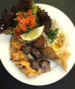 plato combinado maroush
