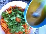 Ensalada de zanahoria y cilantro