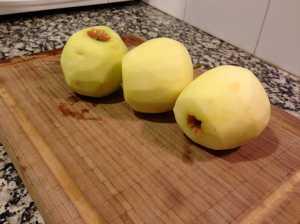 manzanas peladas
