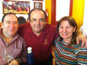 mis padres y Rafael