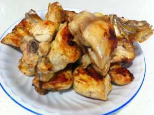 pollo frito aparte
