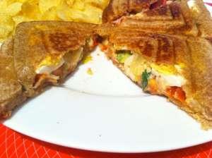 sandwich vegetal atun