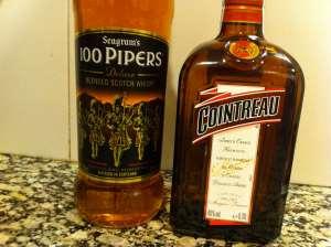 whisky y cointreau