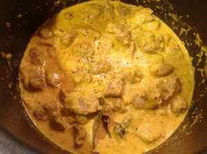 terminando salsa