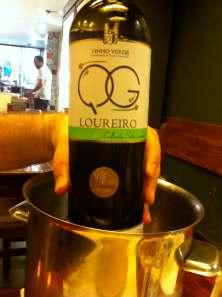 vino verde loureiro
