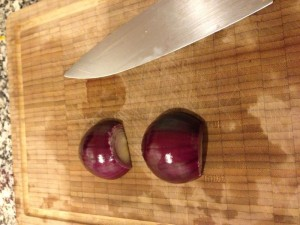 cebollas moradas