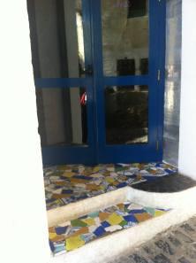 puerta restaurante celeste