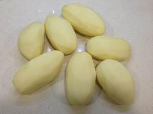 patatas peladas
