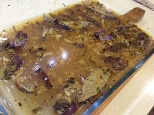 preparando salsa