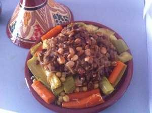 cucus con verduras