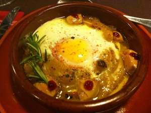 huevos con foie