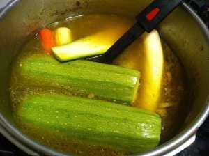 verduras a cocer