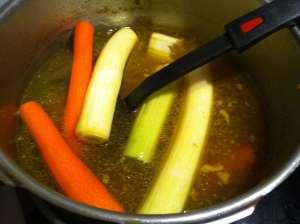 verduras al caldo