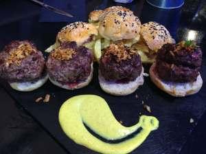 hamburguesas de buey