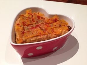 Hummus de lentejas y calabaza