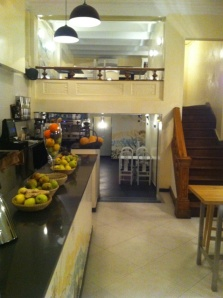 restaurante zaatar interior