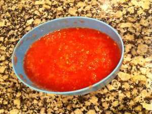 tomate rallado