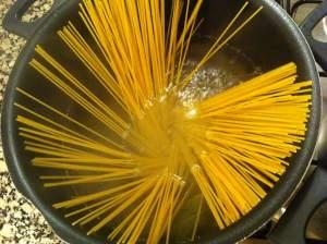 espaguetis olla