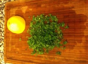 hierbas y limon