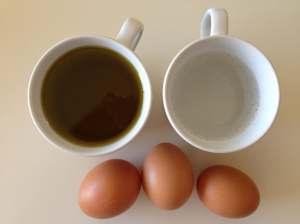 huevos vainilla fructosa