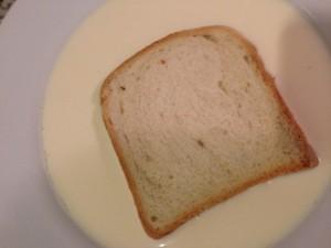 pan en leche