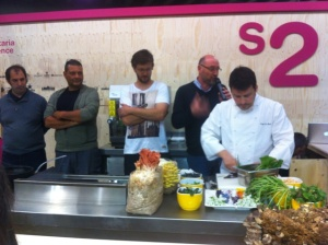 showcooking alimentaria
