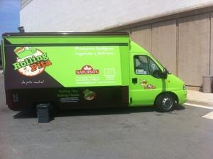 food truck rolling pita