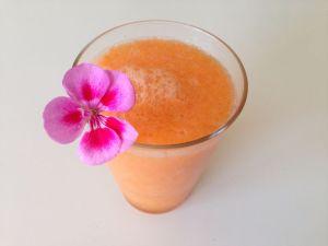 zumo melon zanahoria