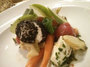 boconcinos con verduras