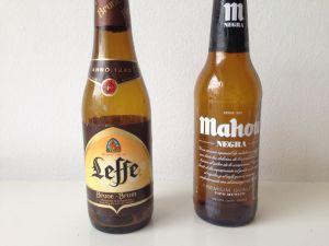 cerveza marrón