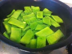 judias verdes hervidas